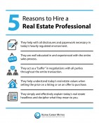 5 Reasons to Hire a Real Estate Professional  [INFOGRAPHIC] | The KCM Crew
