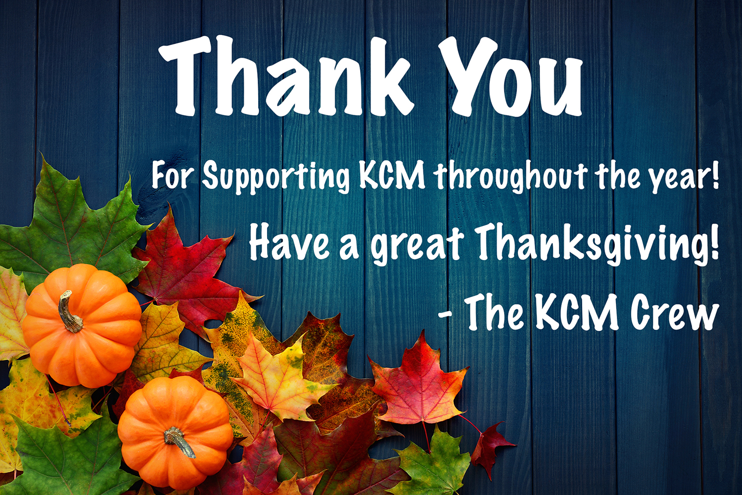 Thank You For Your Support | Keeping Current Matters